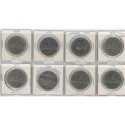 Eight Nickel Dollars - Various Dates