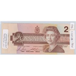 2 - 1986 Canadian Two Dollar Notes - BC-55c-i
