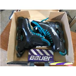 bauer precision in-line skates size 11