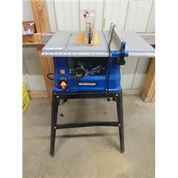 """Mastercraft 10"""" Table Saw & Stand"""