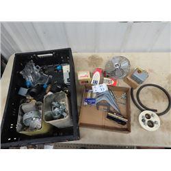 Plumbing, Electrical Hardware, Pressure Switch Castors, Shelving Brackets, Plus More!