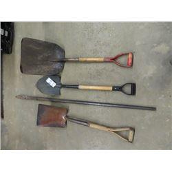 Hand Yard Tools - Fancy Bar, Spade & Shovels