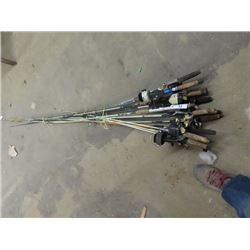 12 Fishing Rods & Reels