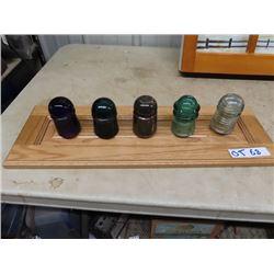 Insulator Display Including Purple One