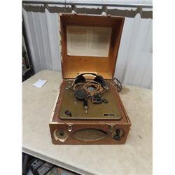 Multi Track Tape Talking Book Machine- Vintage