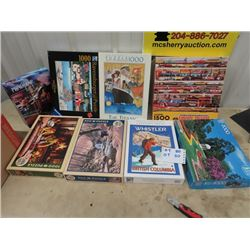 8 Puzzles- 500 to 1500 Pc Puzzles