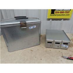 GSW Metal Picnic Cooler & 3 Drawer Mail Box