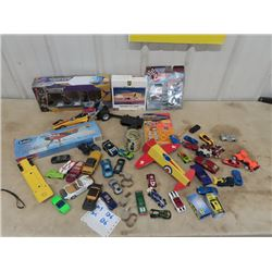Matchbox, Hotwheels & Other Cars,  Die Cast Plane 747, Race Driver Figurines & Plane Models