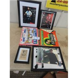 Autographed Photo - Sons of Anarchy , Card Game & Lone Ranger