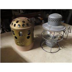 Alixa Heater & CPR Railway Lantern