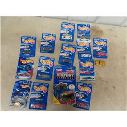 15 Hotwheel Toys- 14 In Packages
