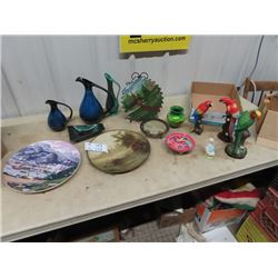 Blue Mountain, Bird Ornaments, Plates, and More!