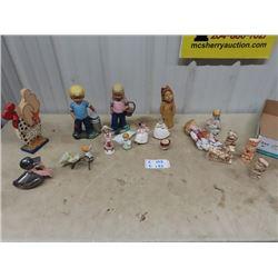 Ornaments, Duck Bank, & Figurines