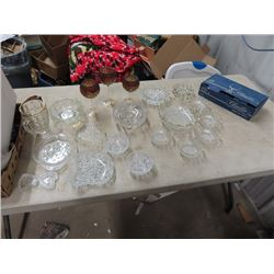 Crystal, Berry Bowls, Serving Dishes, Bowls, Trays and More!