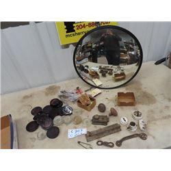 Door Hardware, Furniture Glass Coasters, Bevelled Mirror (Security)