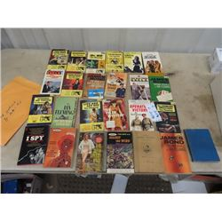 Approx 25 Ian Fleming Books