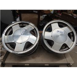 2 Chev 6 Hole Rims