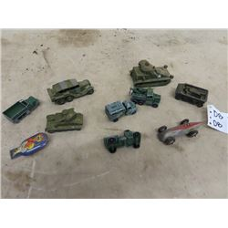 Dinkey Military & Dinky Race Car Toys