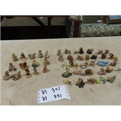 Approx 45 Wade Tea Figurines, Nursery Rhymes & Animals