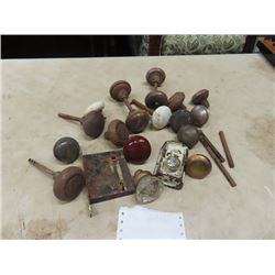 Old Door Hardware, Door Knobs, Porc & Glass Locks- Vintage