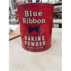 Blue Ribbon baking Powder 5 LB Tin
