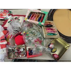 Christmas Decorations, Bulbs, Lights, Tote Tub Plus More!
