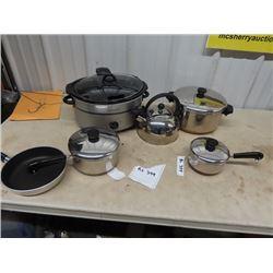 Slow Cooker Crock Pot, Kettle, Pots & Pans