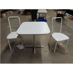 "Apartment Size Kitchen Table & 2 Chairs 30"" x 30"""