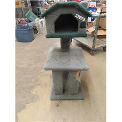 "Cat  Tree Stand / House/Scratch Post Approx 40""H"