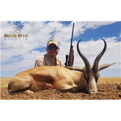 6 Day South Africa Plains Game Safari for 2 Hunters with Jannie Otto Safaris
