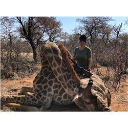 7-Day Giraffe Hunt for 2 Hunters with Monkane Safaris