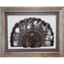 Super 10 Turkey Tail Art by Dan Christ
