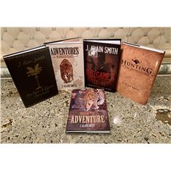 Signed Set of 5 Books by J. Alain Smith