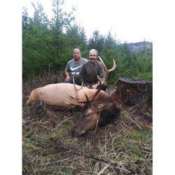 Oregon 6 Day Roosevelt Elk Hunt for 2