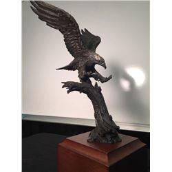 Eagle Bronze entitled  Freedom