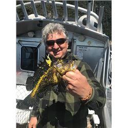 3 Day/ 4 Night Fishing in Wild Alaska for 2