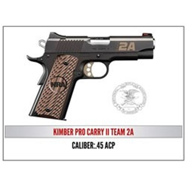 Kimber Pro Carry II Team 2A in 45 ACP