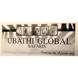 Ubathi Global Safaris Plains Game w/FREE SABLE