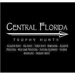 Florida ALLIGATOR hunt w/Central Florida Trophy Hunts