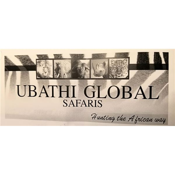10 day 1 hunter 1 observer Ubathi Global Safaris