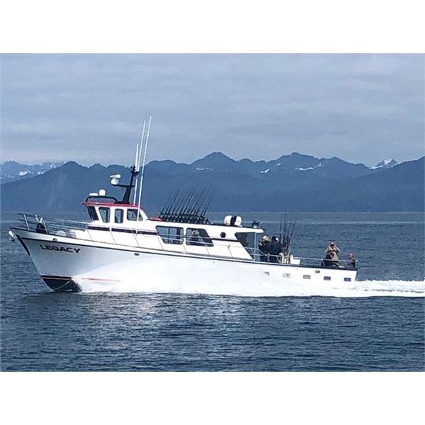 ALASKA Halibut fishing trip 2 Fishermen for 2 nights 1 day.