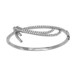 Natural 2.05 CTW Diamond & Bracelet 14K White Gold - REF-221K4R