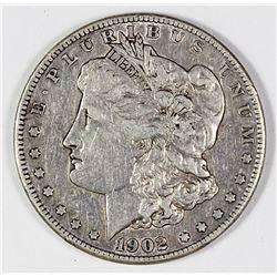 1902-S MORGAN SILVER DOLLAR
