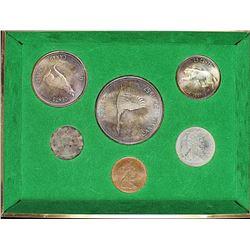 1967 CANADA 6 COIN PL SET