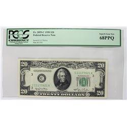 FR 2059-C 1950 $20