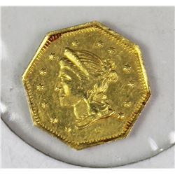 1869 GOLD DOLLAR