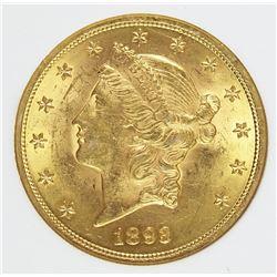 1893 $20 LIBERTY GOLD