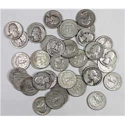 ROLL OF 40 SILVER QUARTERS