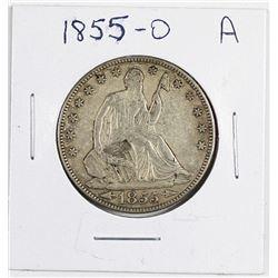 1855-O ARROWS HALF DOLLAR