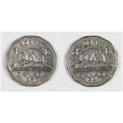 CANADIAN NICKELS